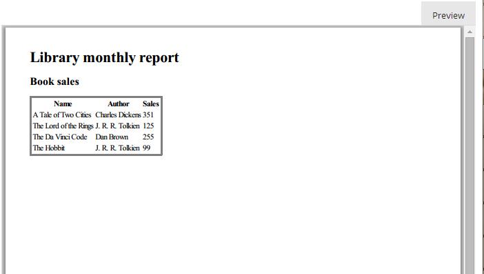 Pdf reports in c#