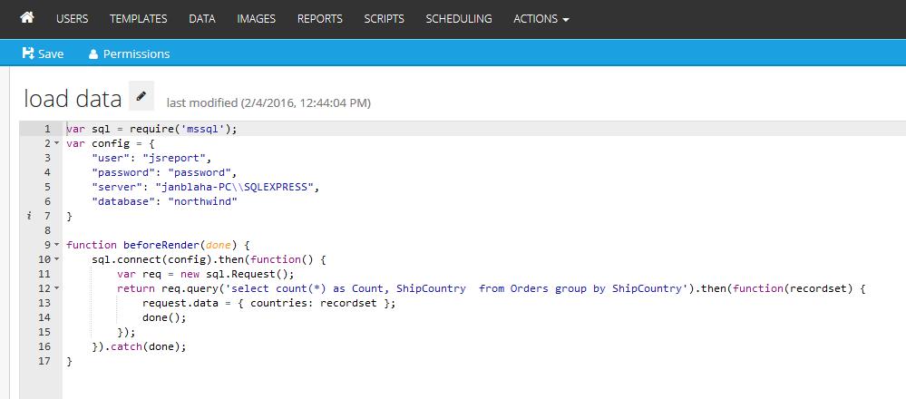 Pdf reports in SQL Server
