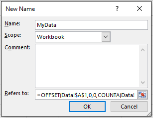 dynamic excel pivot table